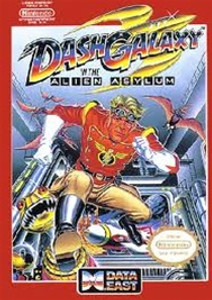 Dash Galaxy In The Alien Asylum - NES Game