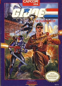 G.I. Joe The Atlantis Factor - NES Game