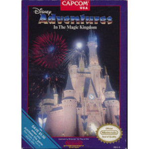 Adventure in the Magic Kingdom, Disney's Video Game For Nintendo NES