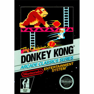 Donkey Kong Arcade Nintendo NES Game for sale