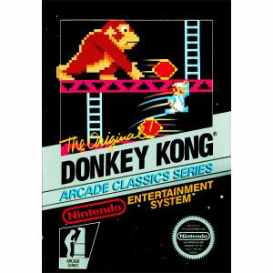 Donkey Kong Arcade Nintendo NES Game for sale