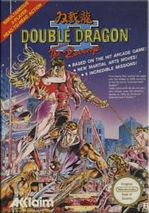 Double Dragon II NES Game box