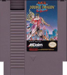 Double Dragon II NES Game cartridge