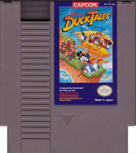 Duck Tales, Disney's - NES game cartridge image