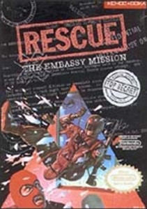 Rescue The Embassy Mission - NES Game