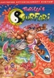 Thrilla's Surfari T&C Surf - NES Game