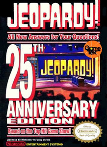 Jeopardy 25th Anniversary Edition - NES Game