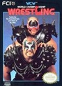 WCW World Championship Wrestling - NES Game