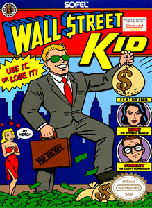 Wall Street Kid NES Game Box