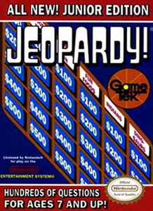 Jeopardy! Junior Edition - NES GameJeopardy! Junior Edition - NES Game