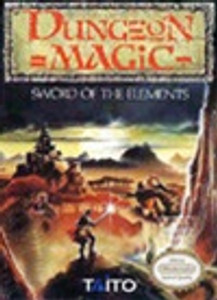 Dungeon Magic Sword of the Elements - NES Game