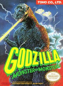 Godzilla Monster of Monsters! - NES Game