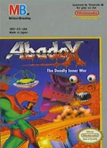 Abadox Deadly Inner War - NES Game
