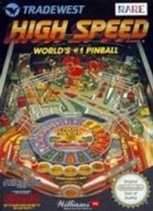 High Speed #1 Pinball - NES Game
