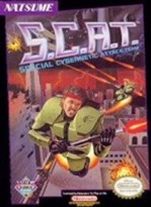 S.C.A.T. - NES Game