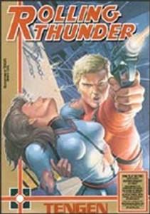 Rolling Thunder (Tengen) - NES Game