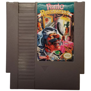 Panic Restaurant - NES Game Cartridge