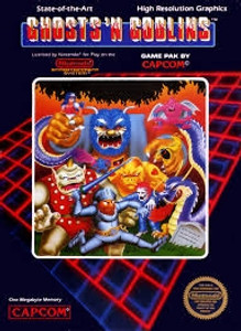 Ghosts 'N Goblins - NES Game