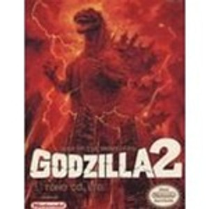 Godzilla 2:War of Monsters - NES Game
