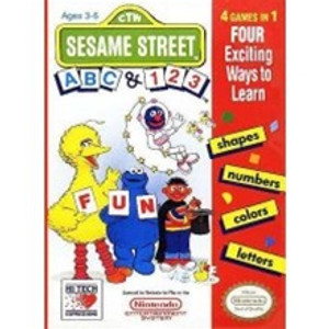 Sesame Street: ABC & 123 - NES Game