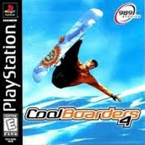 Cool Boarders 4 - PS1 Game