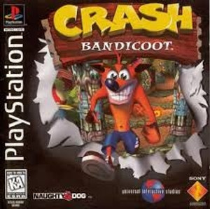 Crash Bandicoot - PS1 Game