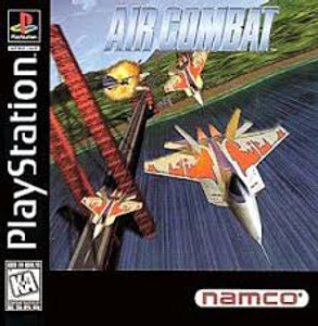 Air Combat - PS1 Game