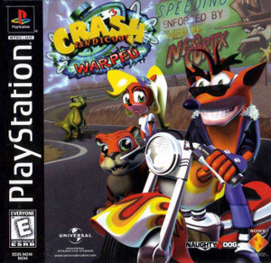 Crash Bandicoot Warped - PS1 Game