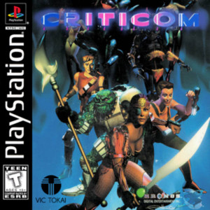 Criticom Video Game For Sony PS1
