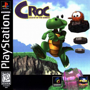 Croc Legend Of Gobbos - PS1 Game