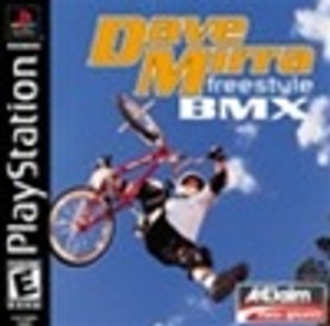 Dave Mirra Freestyle BMX - PS1 Game