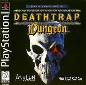 Deathtrap Dungeon - PS1 Game