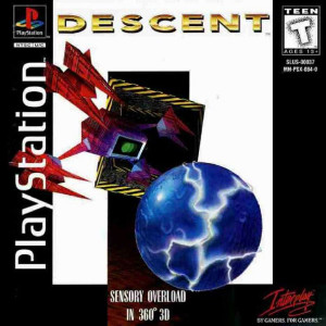 Descent - PS1 Game