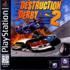 Destruction Derby 2 - PS1 Game