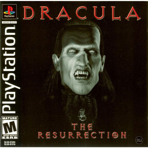 DRACULA THE RESURRECTION - PS1 Game