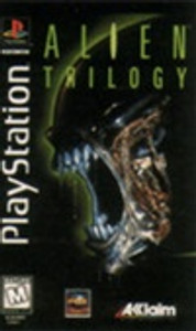 ALIEN TRILOGY - PS1 Game
