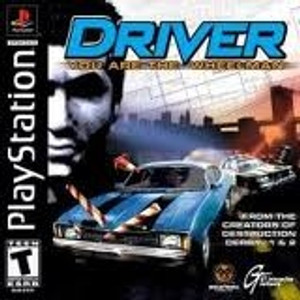 Driver Game - PS1 Game