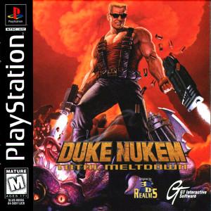 Duke Nukem: Total Meltdown - PS1 Game
