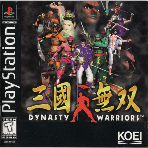 Dynasty Warriors Video Game For Sony PS1