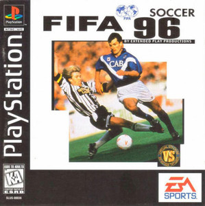 FIFA Soccer 96 - PS1 Game