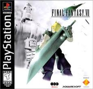 Final Fantasy VII - PS1 Game