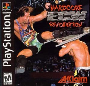 ECW Hardcore Revolution - PS1 Game