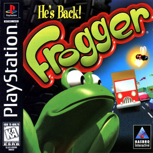 Frogger - PS1 Game
