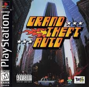 Grand Theft Auto GTA - PS1 Game