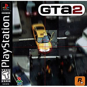 GTA 2 Grand Theft Auto 2 - PS1 Game