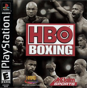 HBO Boxing Sports Game - PS1 Game