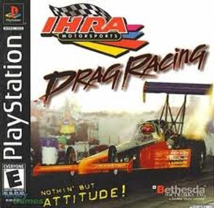 IHRA Drag Racing - PS1 Game