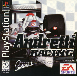 Andretti Racing - PS1 Game