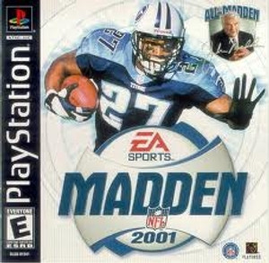 Madden 2001 - PS1 Game