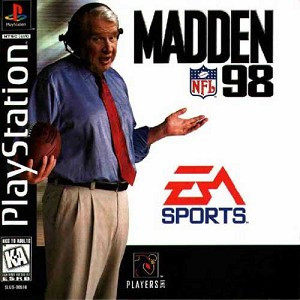 Madden 98 - PS1 Game